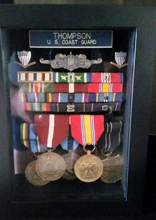 Richard Thompson's Medals