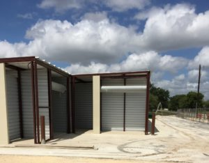 construction at lockaway storage ww white in san antonio