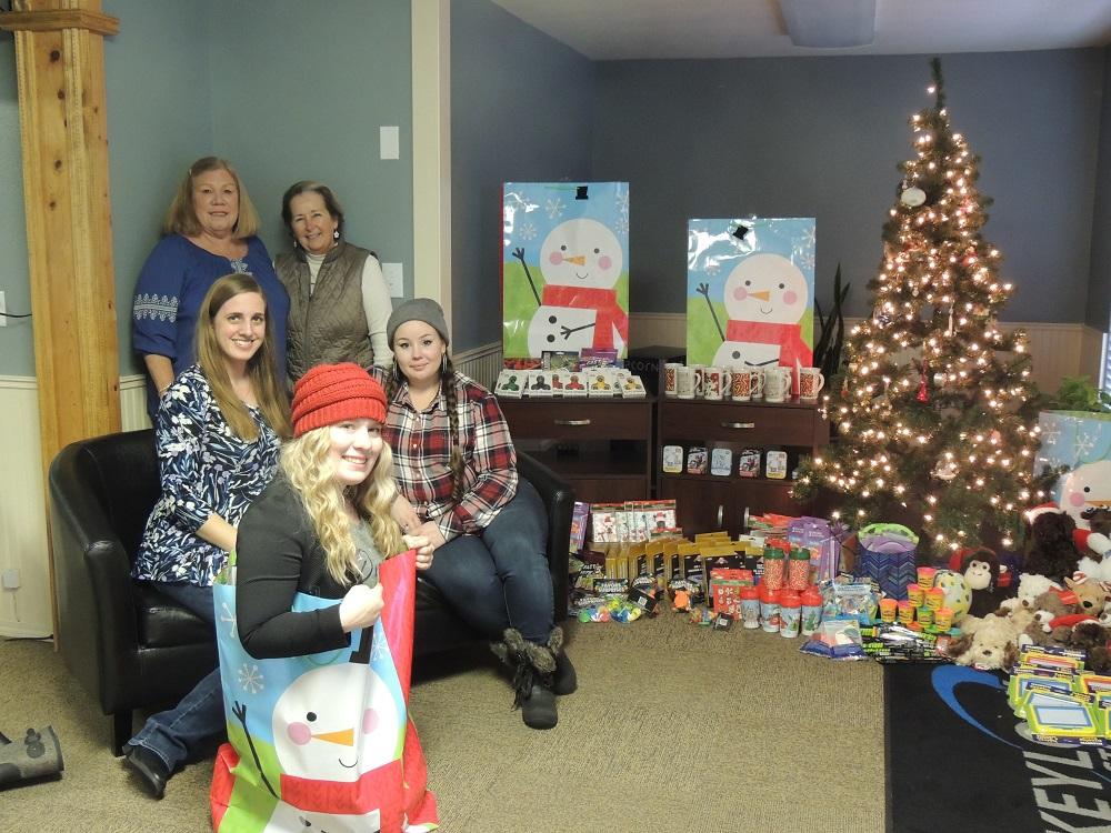 Christmas Gifts Group Photo