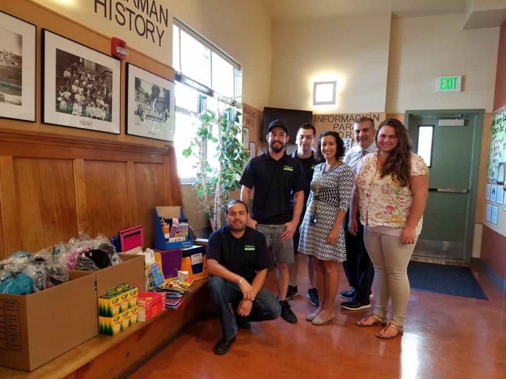 Ballpark Self Storage School Drive 2016 Donations