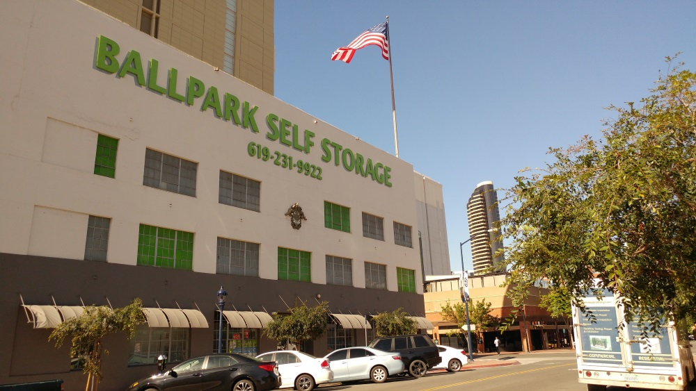 Ballpark self storage in san diego, california