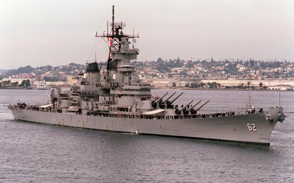 USS New Jersey BB62