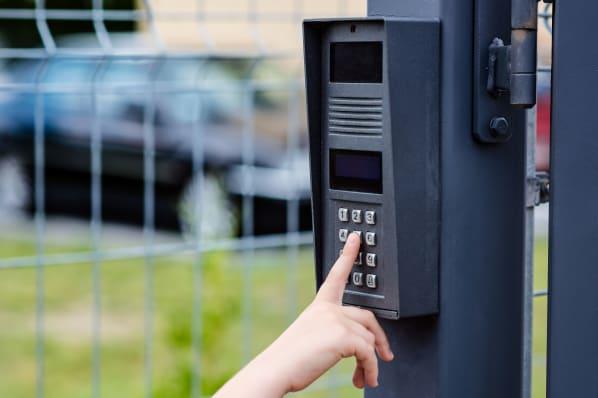 Electronic gate access at ABC Mini Storage in Washington